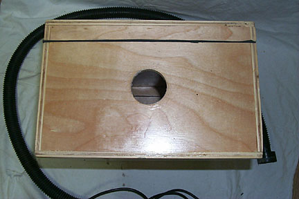 Outer box - right side view (hose).