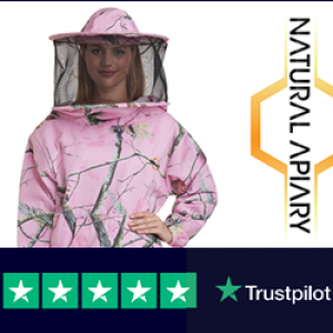 Beekeeping Smock – Polycotton Suit with Non-Flammable Round or Fencing Veils